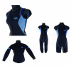 LADIES BLUE RUSH LONG OR SHORT JOHN WETSUIT AND JACKET SIZES 8, 10, 12, 14, 16, 18 and 20